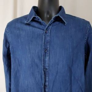 BANANA REPUBLIC Denim Shirt Size M